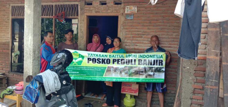 Banjir Melanda Bekasi, Baitul Ummi ikut Peduli